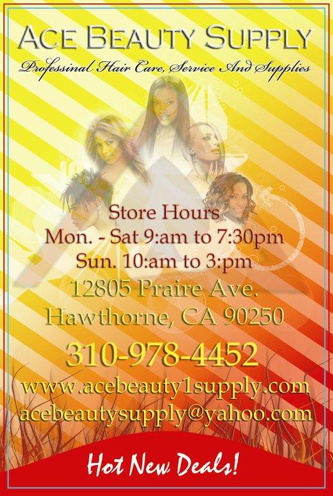 Ace Beauty Supply & Salon - Black Owned