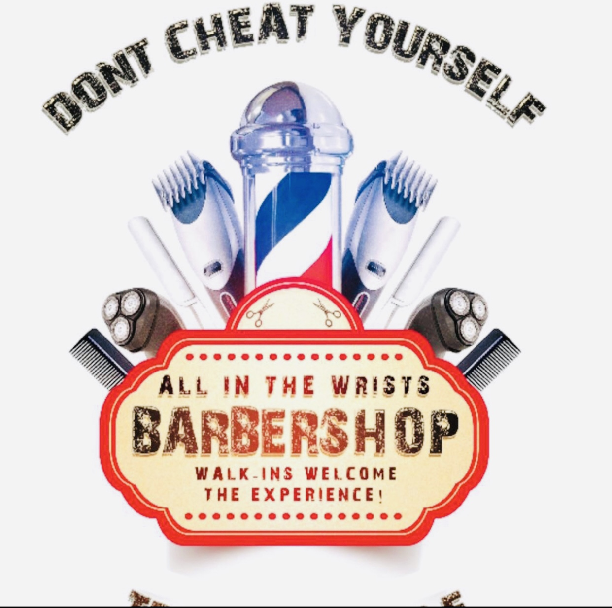 All In The Wrist Barbershop - Black Owned