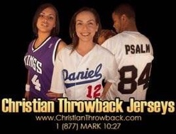 Christian Throwback Jersey - Black Owned