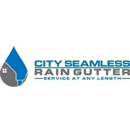 City Seamless Rain Gutter - Black Owned