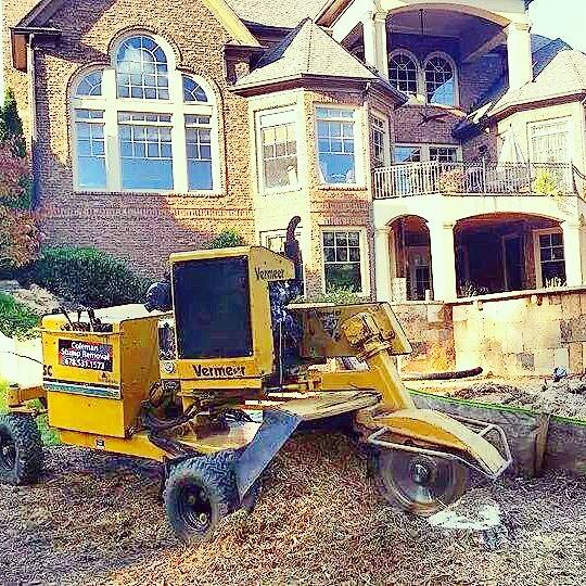 Coleman Stump Removal - Black Owned