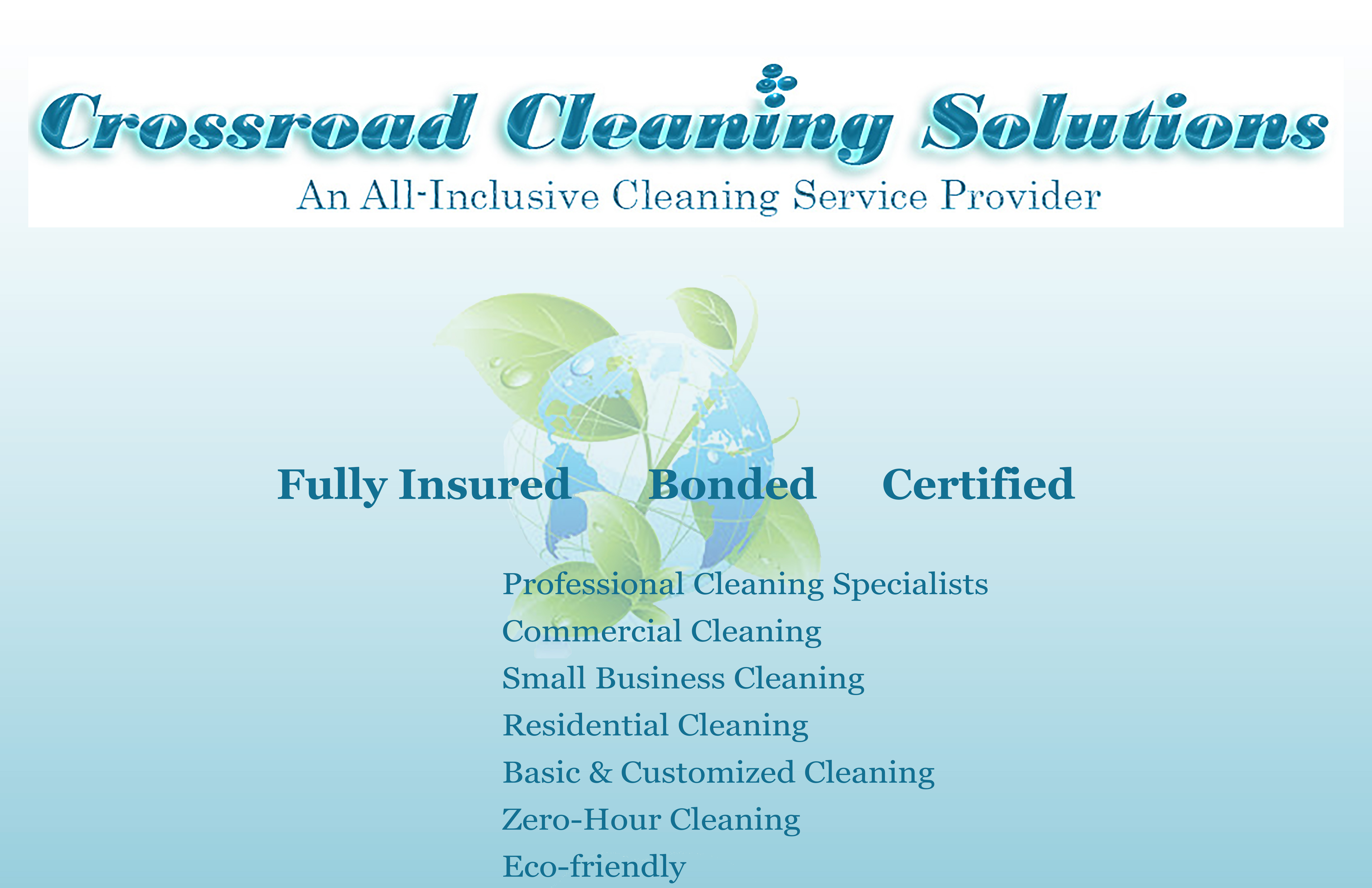 Crossroad Cleaning Solutions - Black Owned