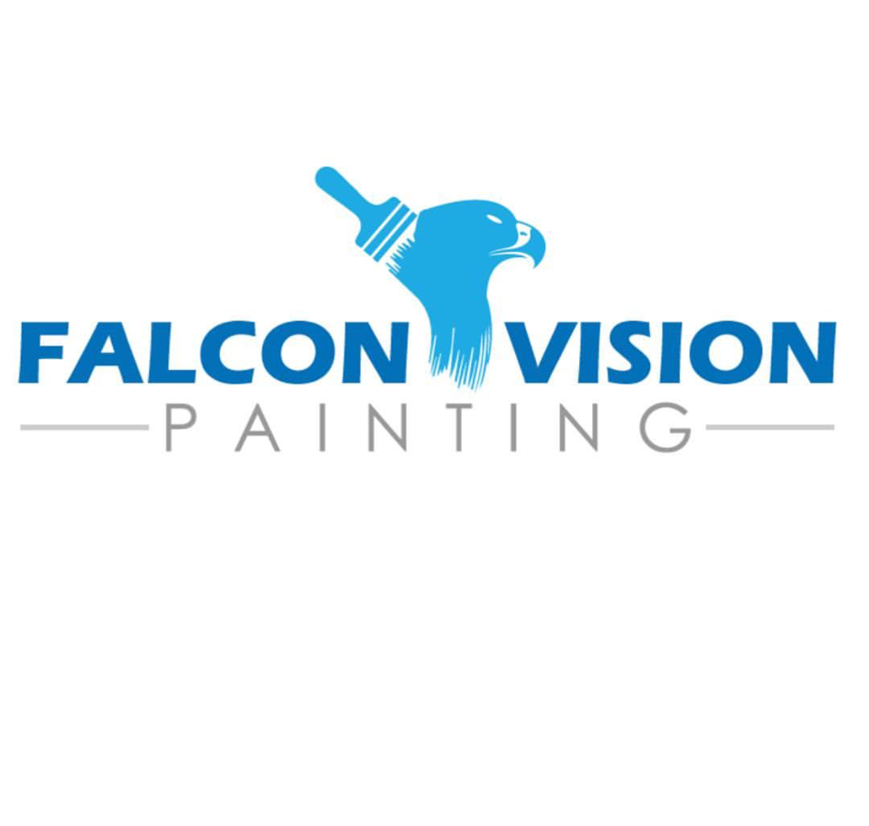 Falcon Vision Painting - Black Owned