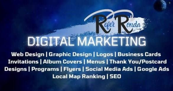 Refer Ronda Digital Marketing, LLC - Black Owned