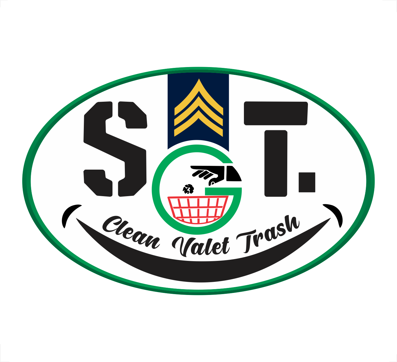 SGT. CLEAN VALET TRASH - Black Owned