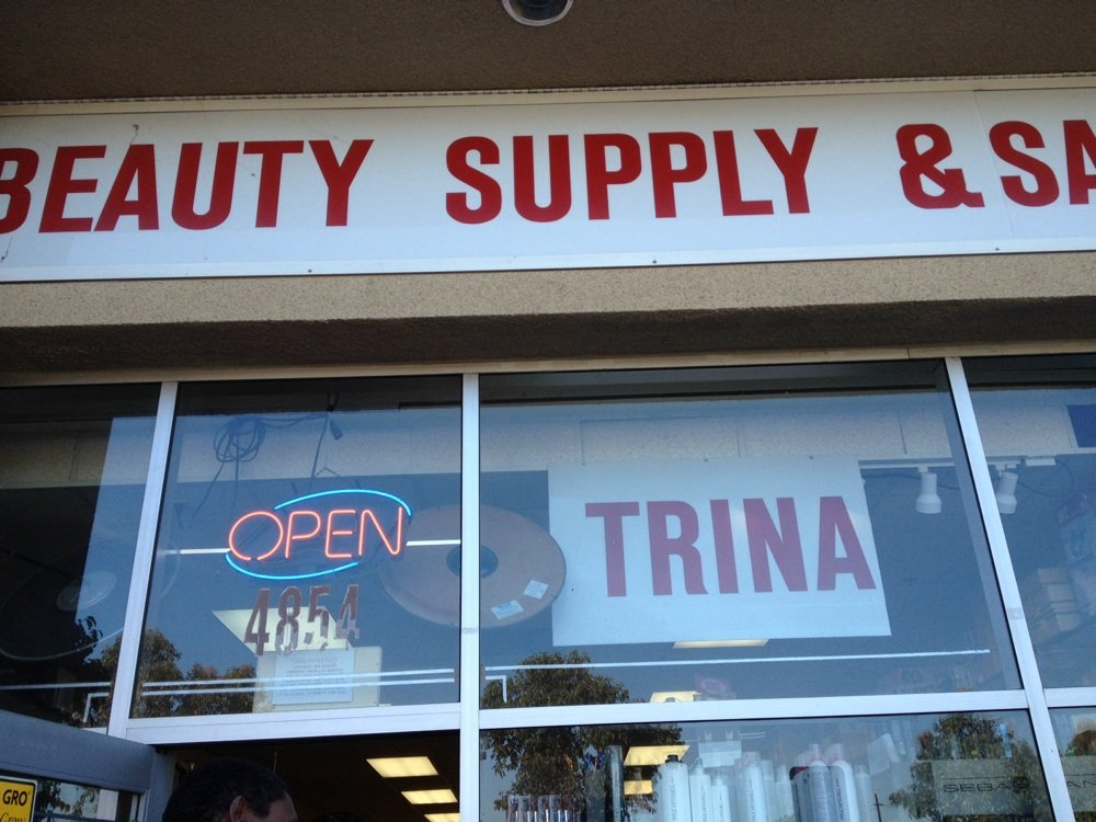 Trina's Beauty Supply - Black Owned