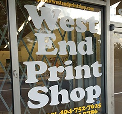 West End Print Shop - Black Owned
